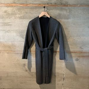 Vince reversible coat wool and cashmere